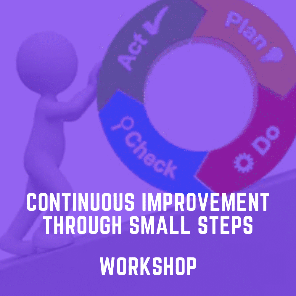 Continuous Improvement Through Small Steps Workshop