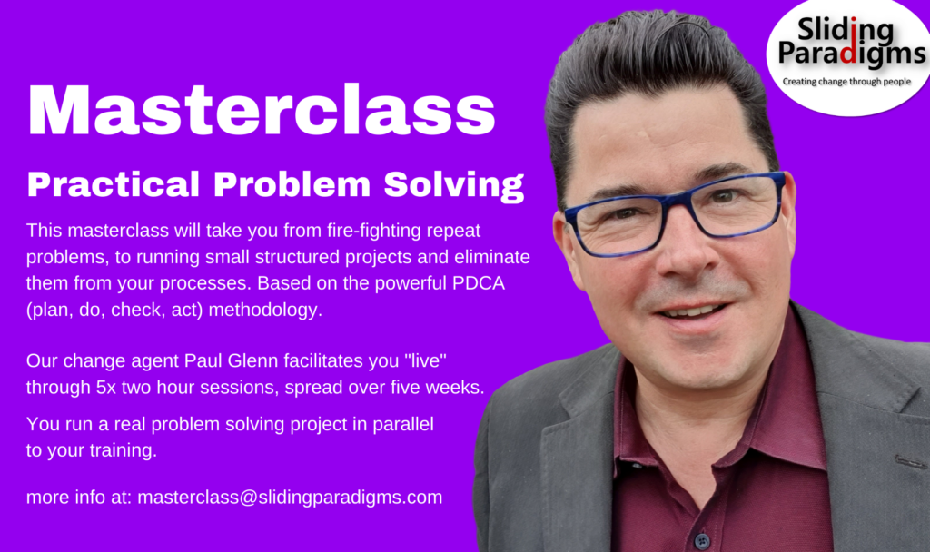 Masterclass for Practical Problem Solving